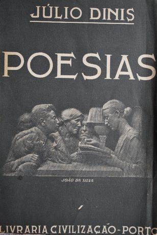 Poesias de Júlio Dinis (Ano Edição 1950)