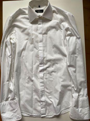 Elegancka koszula w kolorze śmietanki Giacomo Conti rozm.27