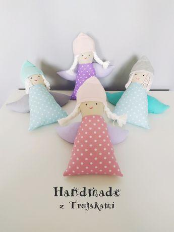 Aniołek, anioł - prezent narodziny chrzest ślub / Handmade z Trojakami