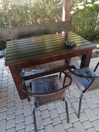 Stół ogrodowy 128x78x73