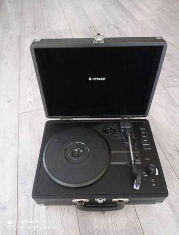 Adapter gramofon HYKKER czarny