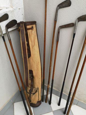 Saco e conjunto tacos golf vintage