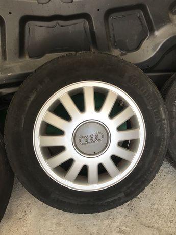 Продам диски з шинами Ауди205/60R15