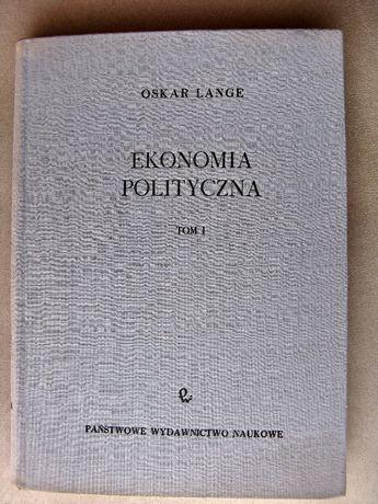 Ekonomia Polityczna-Oskar Lange Tom I-1961