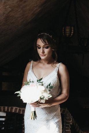 Przepiękna suknia ślubna Justin Alexander