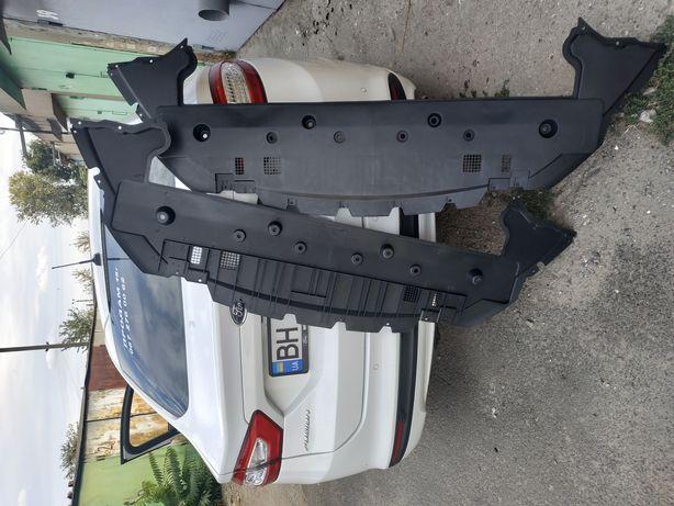 Ford Fusion форд фюжен защита бампера переднего нижняя часть