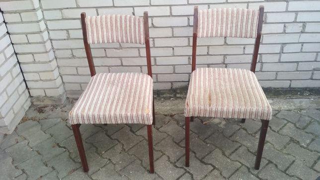 Krzesło, krzesła tapicerowane prl