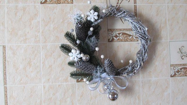 Новогодний декор,венок на двери,венки новогодние