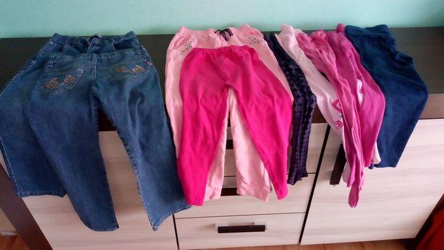 Ubranka dla dziewczynki 128 /134