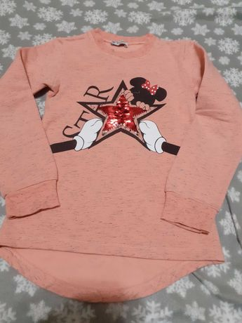 Sweter 128 z cekinami