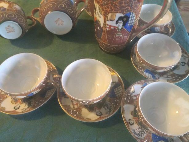 Conjunto de café porcelana japonesa