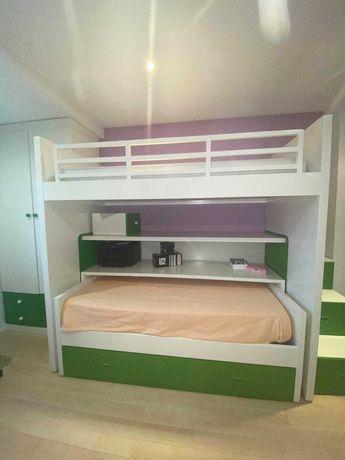 Mobília de quarto de criança - Beliche