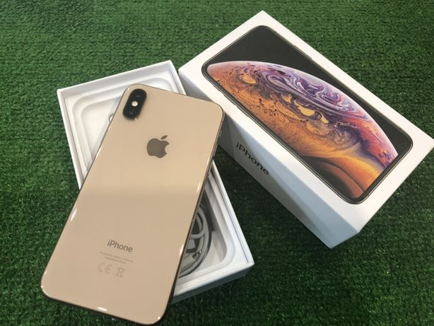 IPhone XS 256 gold Neverlock,ИДЕАЛ, без пользования,АКБ 100%