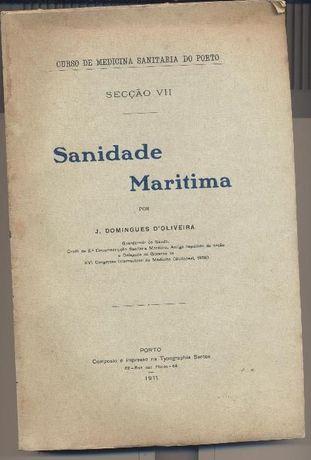 Sanidade Maritima - J. Domingues D'Oliveira - 1911