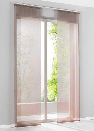 Panele okienne brązowe z Bonprix nowe