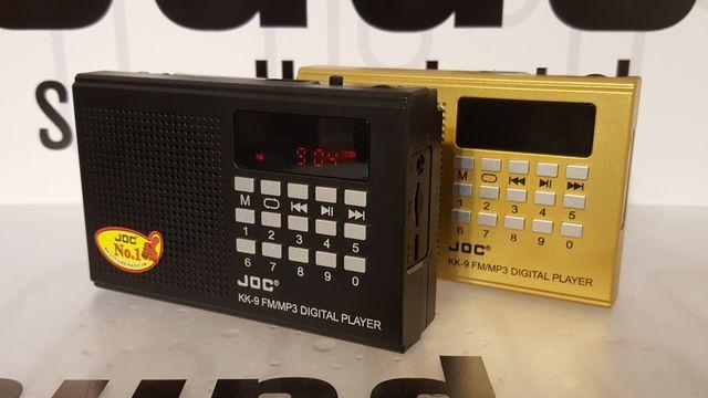 Radio kieszonkowe przenośne bezprzewodowe z odtwarzaczem mp3 USB TF