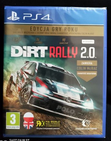 Dirt Rally 2.0 PL. - PS4