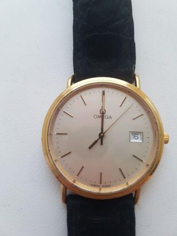 золотий годинник омега золота кварц 750 проба СРОЧНО