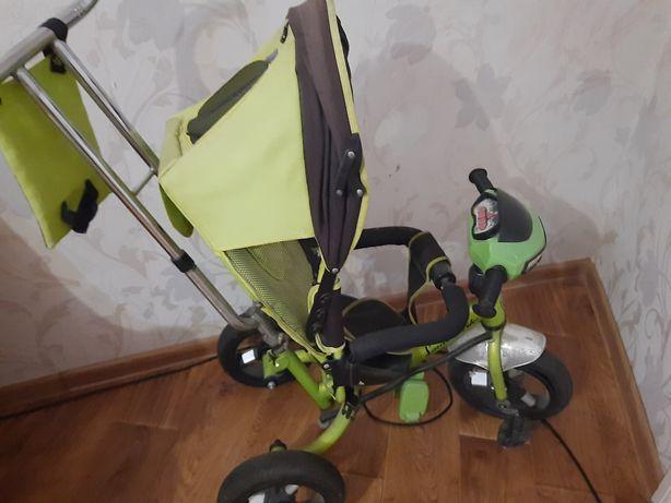 Отличный трехколесный велосипед для ребенка