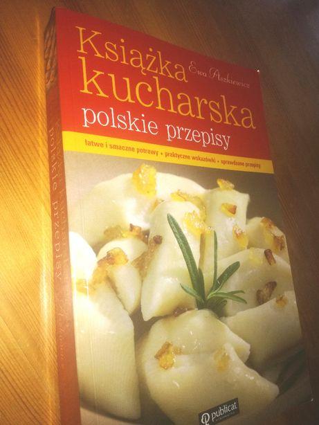 Książka kucharska polskie przepisy - Ewa Aszkiewicz