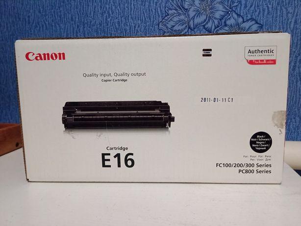 Картридж Canon E16