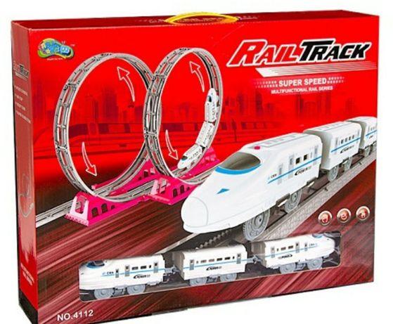 Железная дорога скоростной поезд power train world