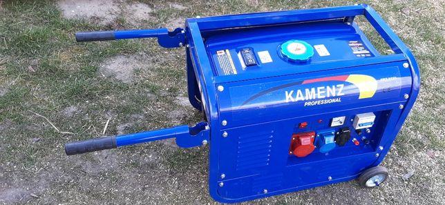 agregat pradotwórczy generator kamenz KMG8300 5kW 3fazy (3p) BENZYNA