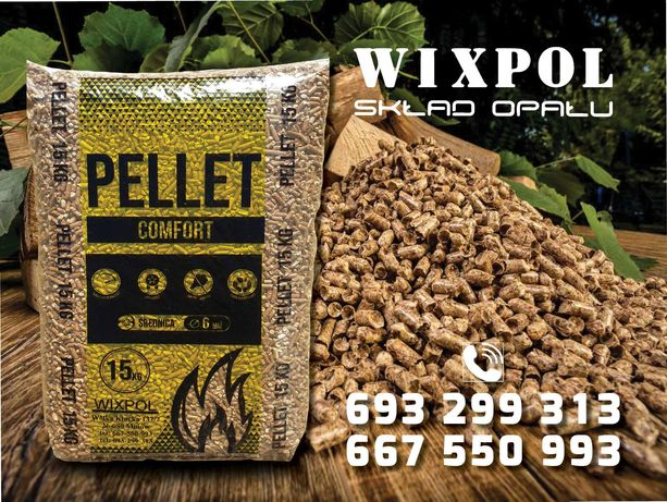 Pellet Pelet COMFORT 720zł Transport (Olimp,Lava,)