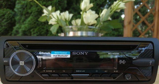 Radio samochodowe Sony MEX-N4300BT NFC BLUETOOTH USB APP MP3