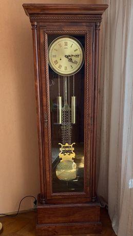 Zegar stojący z wahadłem Adler 10064 ciemna wiśnia
