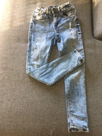 Jeansy, spodnie Zara 140