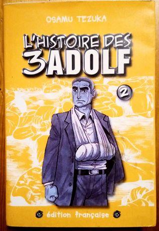 BD: Warren Ellis, Shaun tan, Tezuka, L'Histoire des 3 Adolf vol 3 (FR)