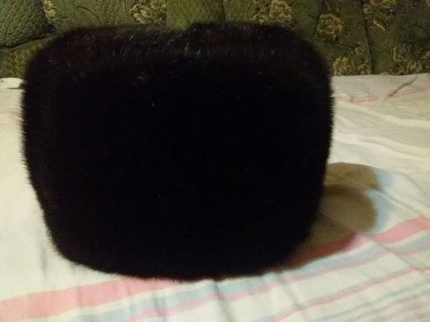 Новая мужская норковая шапка (обманка)