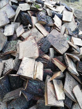 Zrzyny dębowe sosnowe cięte drewno
