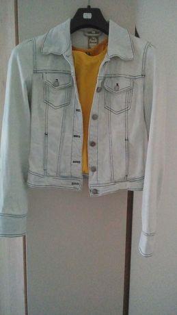 Jeansowa kurtka bluza