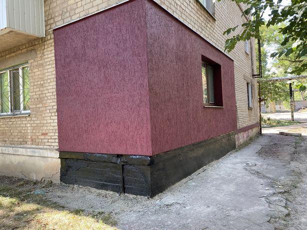 Утепление стен, фасада дома, 1-е этажи скидки!Швы,Откосы,Высотные рабо