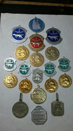 медали для собачих выставок ссср 60-70годы