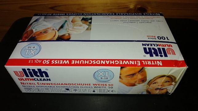 Rękawiczki NITRIL WEISS rozm.XL Niemiecka jakość