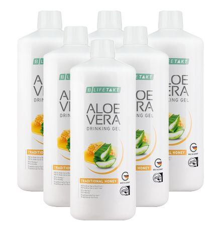Aloe Vera Set Gel Life Esssence Mel 6 unidades