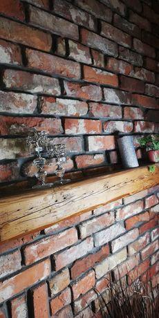 Płytki z cegły cegieł cegla cięta, cegła rozbiórkowe, lico