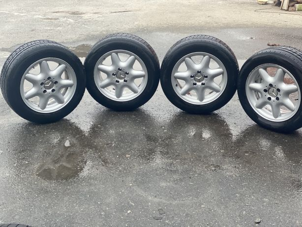 Диски 5:112 R16 Mercedes-Benz , шини , мерседес , склад , титаны