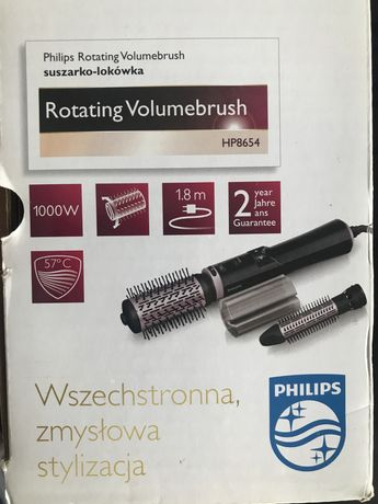 Lokówko-suszarka Philips versatile obrotowa