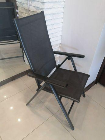 nowy LEŻAK OGRODOWY KRZESŁO rozkładane fotel regulowane oparcie
