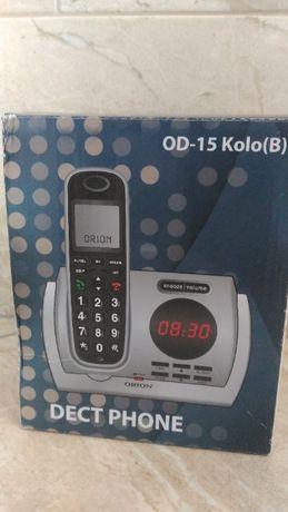 Новый дектовый телефон автоответчик, цифровой дисплей, часы - ДЕШЕВО!