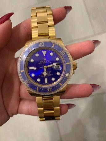 Zegarek Rolex Submariner AAA Date Gold-Blue