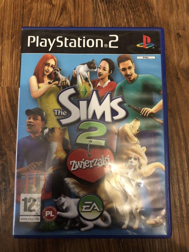 Gra na PS2 - The Sims 2 Zwierzaki - polska wrrsja