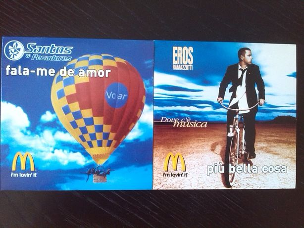 McDonalds coleccção 2 cd's