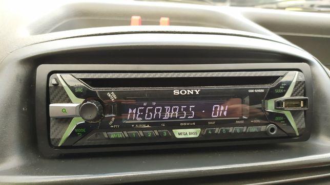 Radio Sony USB, AUX mega bass