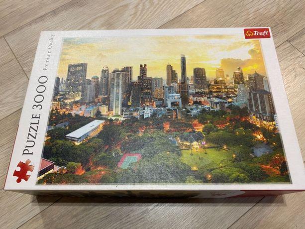 Puzzle 3000, Trefl, Premium Quality, Zachód Słońca w Bangkoku