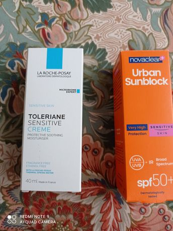 La Roche posey krem Toleriane + ochrona przeciwsłoneczna